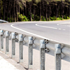 Factory supply low price road safety equipment standard size or customized size Q235 metal guardrail