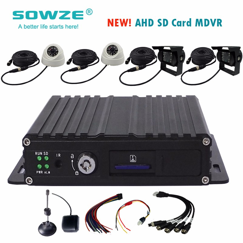 sd gps 3g dvr kit/four camera car dvr/vehicle monitoring security system