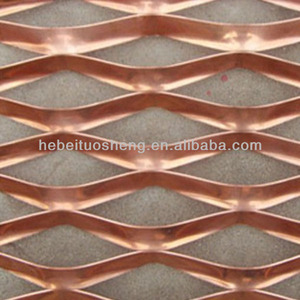 copper / brass / phosphor bronze coated expanded metal mesh