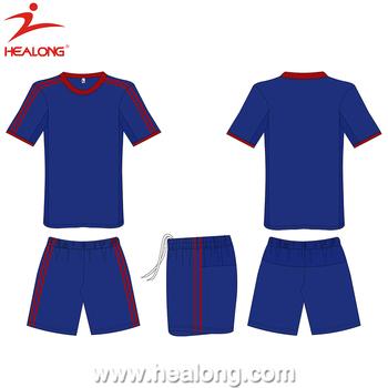c86845663 Healong Custom Sublimation Soccer Uniform New Design Style Any Color Blank Soccer  Jersey