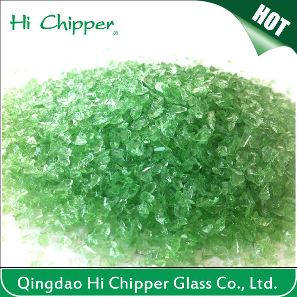 Crushed Clear Glass Sand For Swimming Pool Filter Media