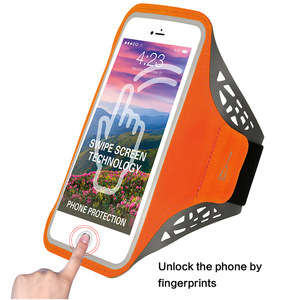 Armband Case For Apple iphone Waterproof Arm Band Case reflective armband with earphone holder