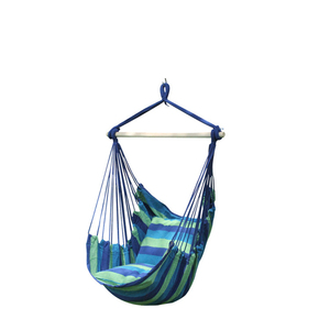 100*130cm Outdoor and Indoor Living Room Cotton Rope Hammock Hanging Chair / Swing Chair
