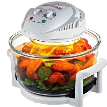 Zogift New Multifunctional Cooker 12l Stainless Steel Pot Halogen Oven For Home Using