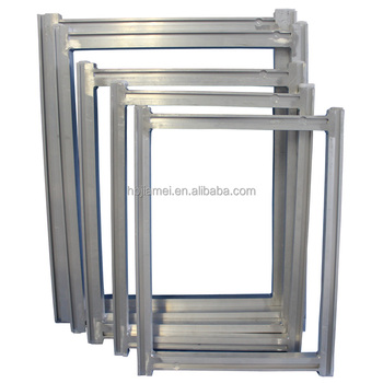 china manufacturer aluminum silk screen frames screen printing