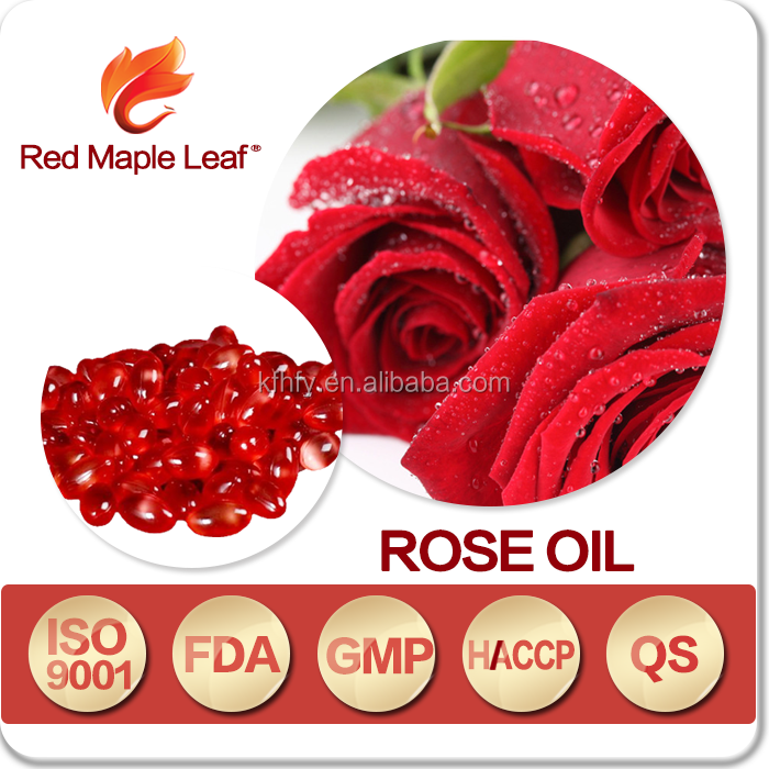 Herbal Supplements Beauty and Skin Whitening Rose Oil Capsules