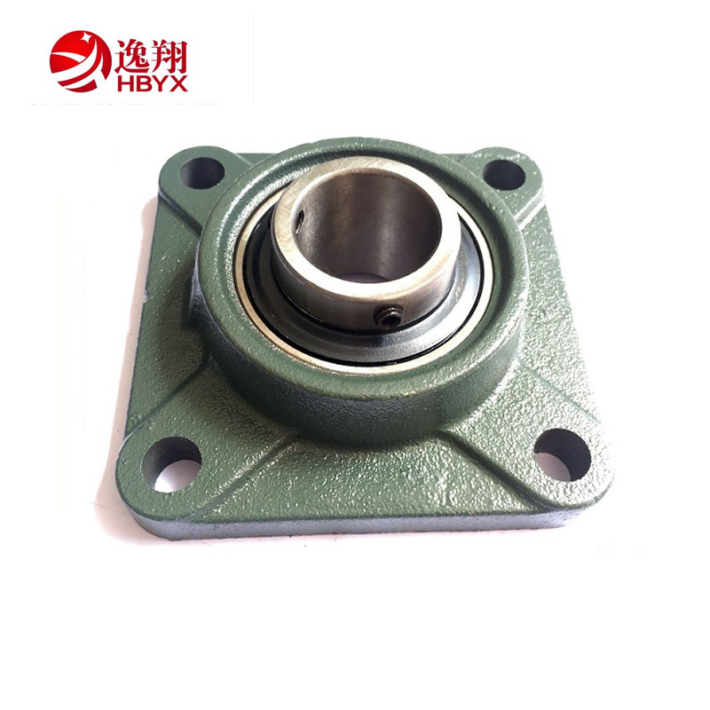Agriculture Farming Four Bolt Square Flange Insert Ball Bearing Pillow Block Bearing UCF218