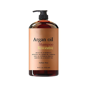 Factory direct health daily care use moroccan argan oil hair shampoo