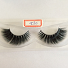 premium mink strip eyelashes real 3D mink lashes with private label and custom package