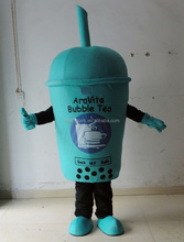 custom made pearl milk tea cup mascot costume bubble tea mascot costume for promotion activity