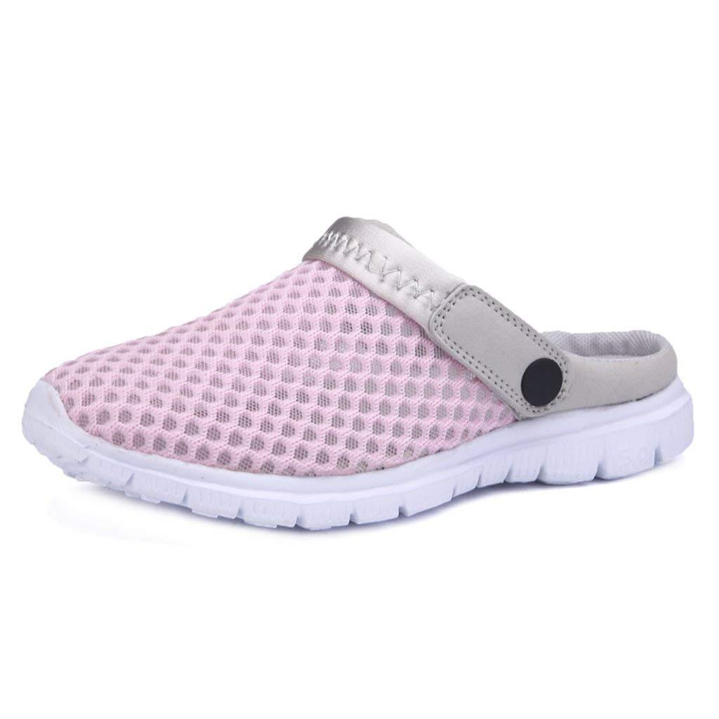 iLory Men Women Slip On Clogs Casual Slide Comfort Mule Sandals Shoes Size