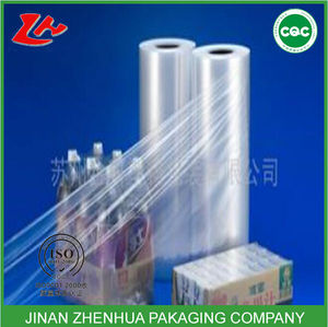 high transparent clear pallet wrapping stretch film jumbo roll