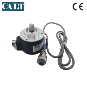CALT 10mm solid shaft 600ppr pulse push pull optical rotary encoder sensor