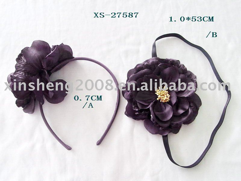 2012 hot large flower hair band