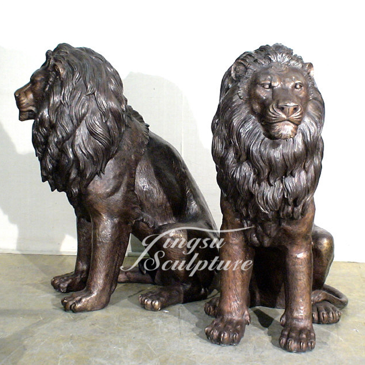 Outdoor Decoration Life Size Antique Bronze Lion Statue Product On Alibaba