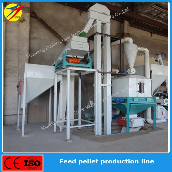 high quality feed pellet production line for poultry