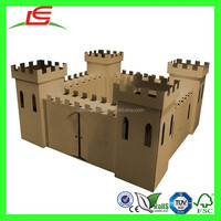N068 DIY Giant Cardboard Castle Kit For Children