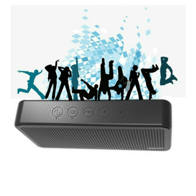 New mini 6000mAh USB power bank bluetooth speaker wireless with portable design