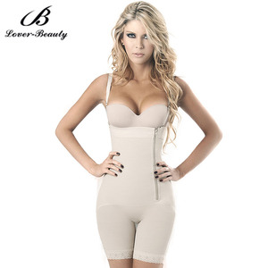 bcaff5d73ee Lover Beauty Black Zipper Side Vest Body Shaper Tummy Girdle Control  Underbust Shapewear Women Slimming Underwear