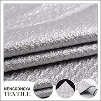 Different kinds of fashionable coating slub polyester padded fabric