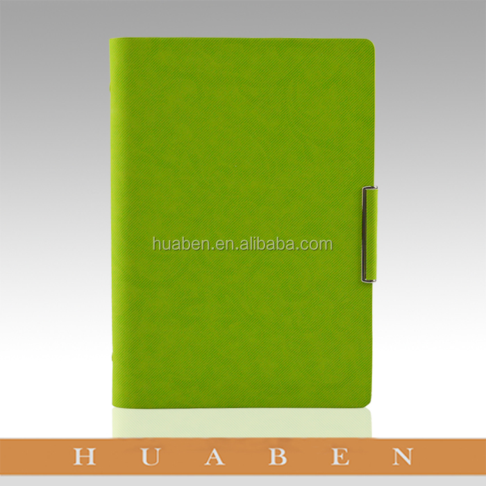 2017 Huaben Unique design ring binder notebook diary