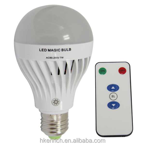 Dimmable Rechargeable LED Bulb Lamp made in China