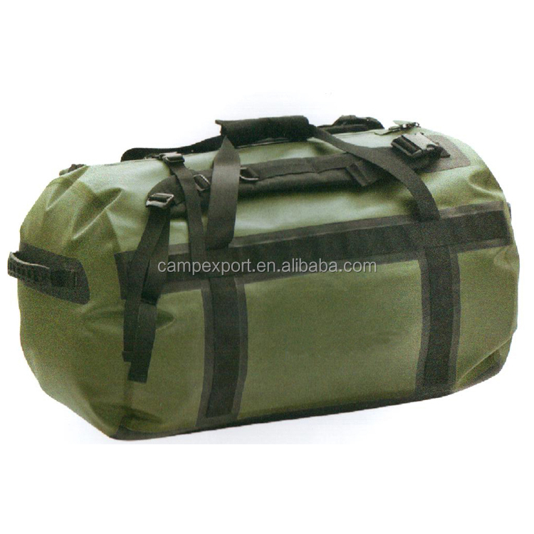 multifunctional pvc tarpaulin nylon TPU duffle bag with shoulder strap  backpack 90d5b05049d5a