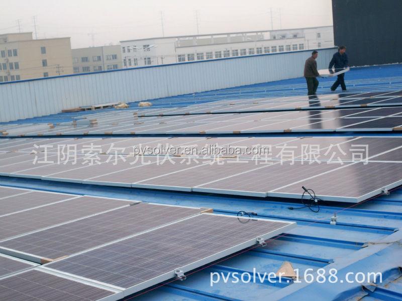 Pvsolver Pitched Roof Solar Mounting Manufacturer U