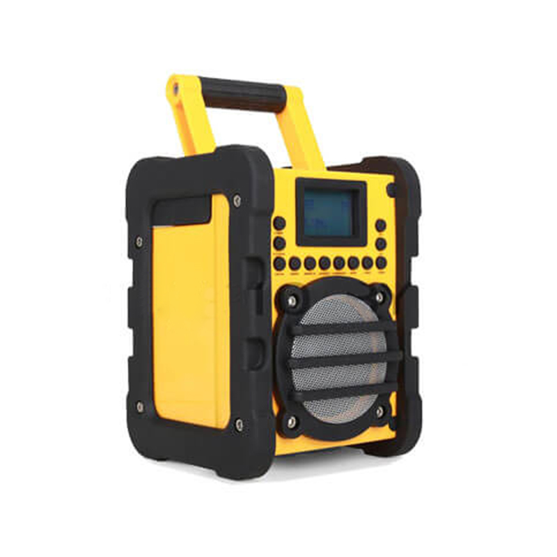 Heavy Duty Site Outdoor BT Werfradio Wifi internetradio FM / DAB / DAB + Jobsite-radio