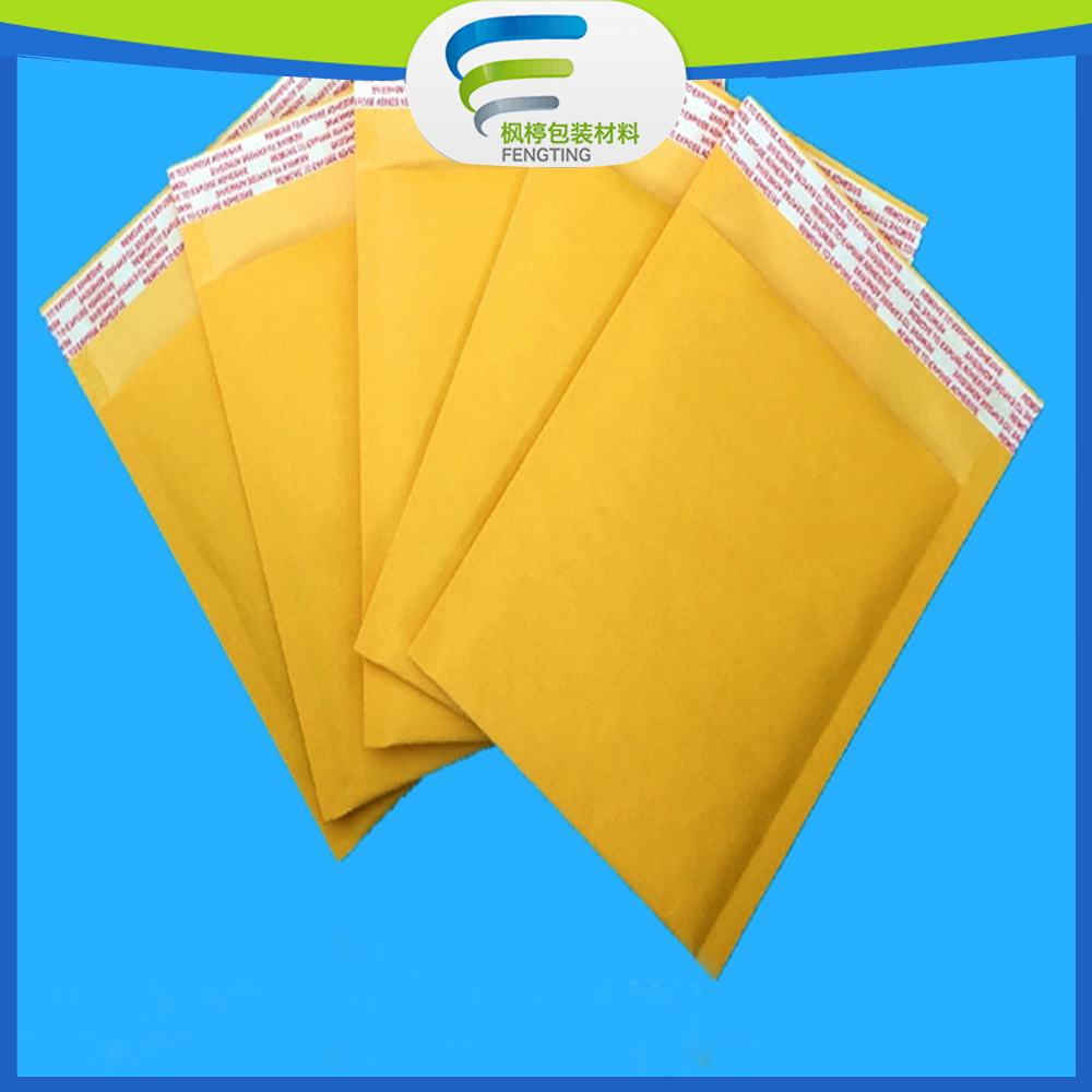 self seal kraft bubble envelope A4 paper bags for packing and post