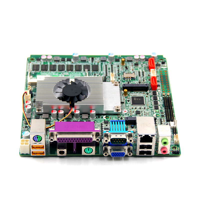 2017 High Discount ps2 1037U motherboard with dual channel 24bit LVDS Output