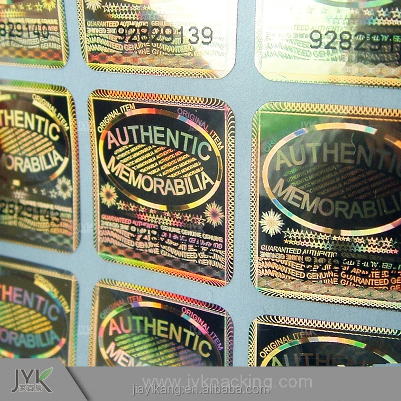 China security labels and hologram stickers wholesale