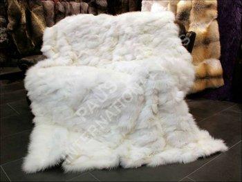 607 zorro blanco lados manta de piel buy 607 zorro - Mantas de piel ...