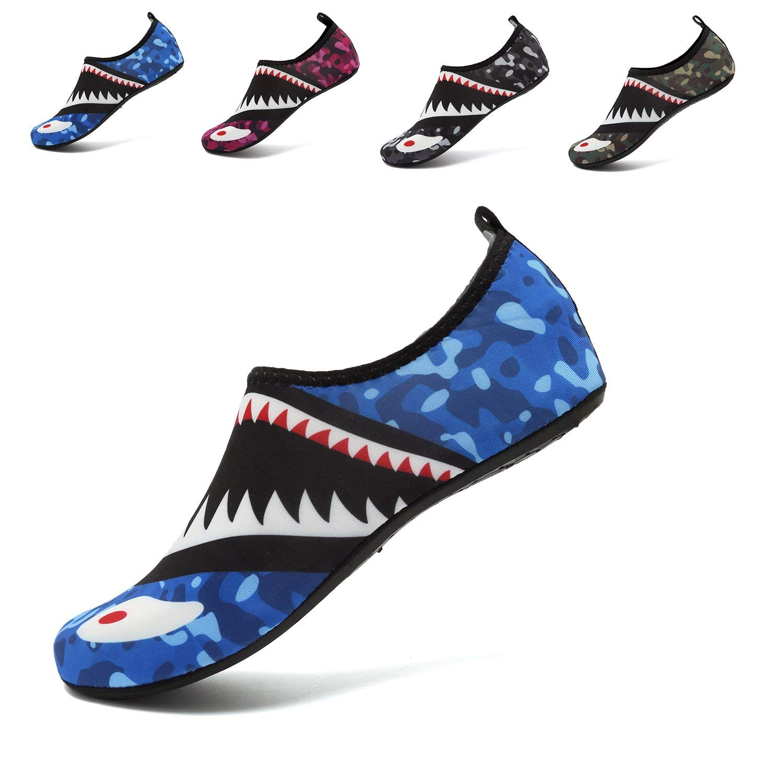 Water Sports Shoes Barefoot Quick-Dry Aqua Beach Swim Exercise Yoga Socks Slip-On for Men and Women