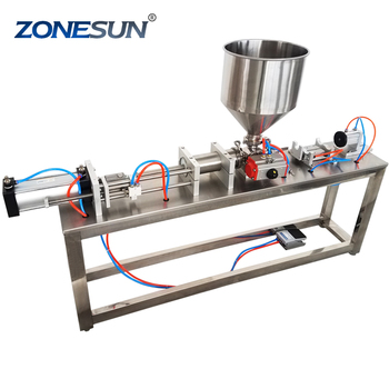 ZONESUN semi automatic sealant bottle filling machine supply