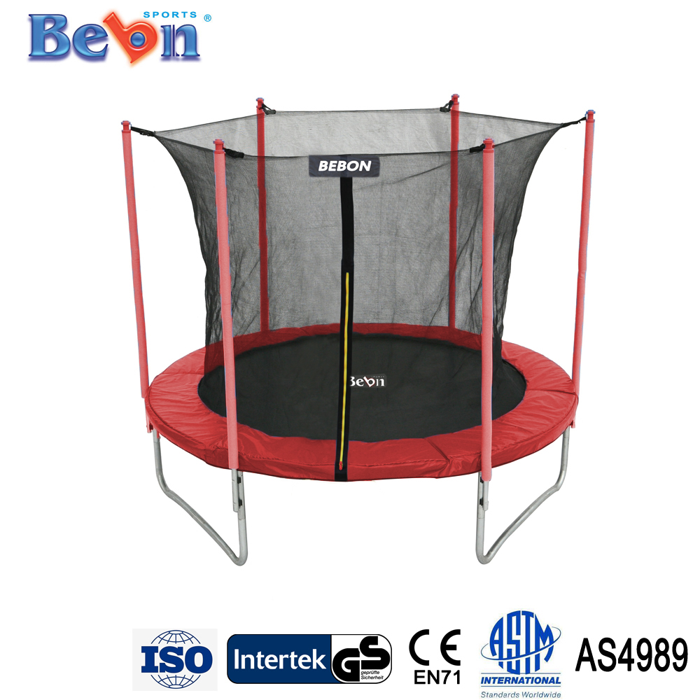 8ft trampoline outdoor trampoline funny toys wholesale customized
