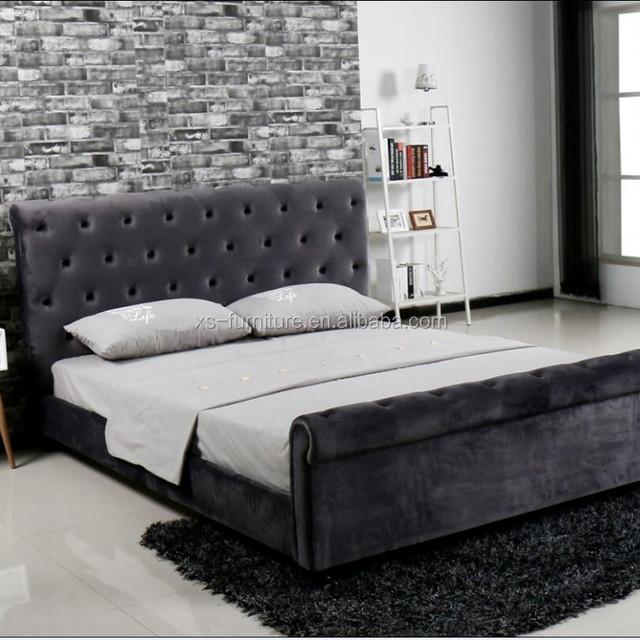 Promoción madera marco de la cama queen size, Compras online de ...