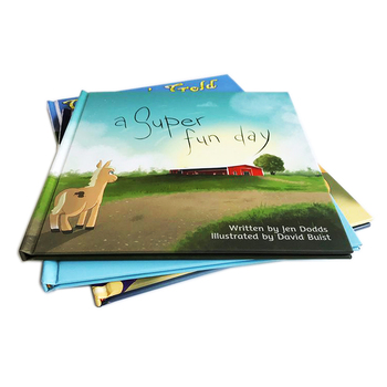Kids Hardcover Book Printing Services With Free Printing File Checking