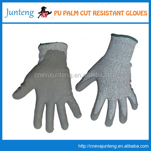 New style unique cotton working gloves with long cuff