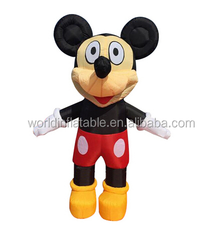 brand new inflatable cartoon, inflatable Mickey Mouse cartoon for advertising