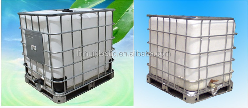 1000l Liquid Square Ibc Tank Buy Cheap Hot Sale Caged