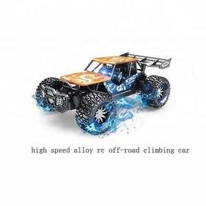 universal rc car long distance remote control car 4wd off road climb big foot high speed alloy diecast rc car remote control toy
