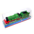 T0236b Electric Thomas and friend Henrry with a carriage Trackmaster engine Motorized train With original packaging