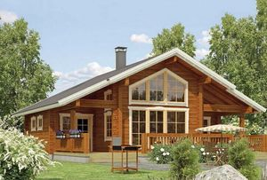 High quality prefab houses china kit log homes kit homes log cabins for sale