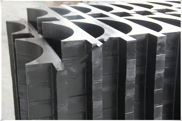 uhmwpe/hdpe pipe support block/spacers for pipe