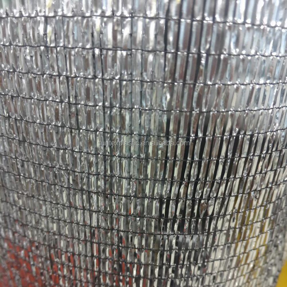 Aluminum Shade Net Aluminum Sunblock Fabric Mesh Sliver