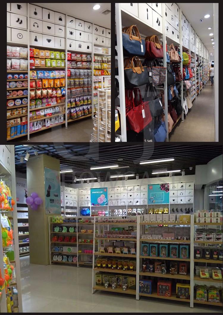 Süpermarket Mağaza Ekran Meyve ve Sebze Standı Raf Gondol Raf