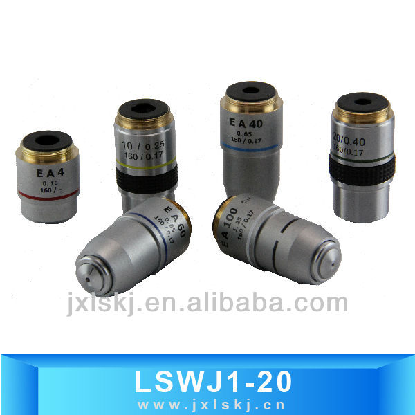LSWJ Achromatic Microscope Objectives