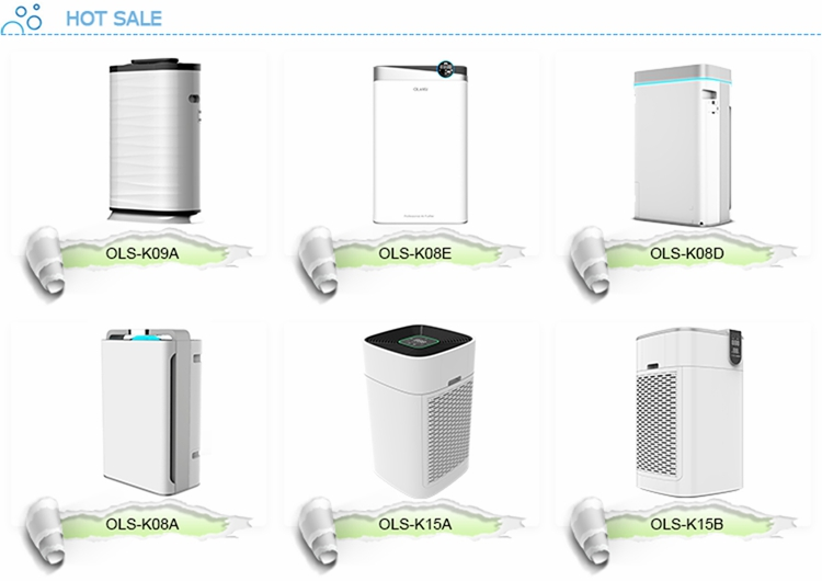 Olansi new products 2019 innovative product room portable ionized home air purifier with humidifier healthy air cleaner
