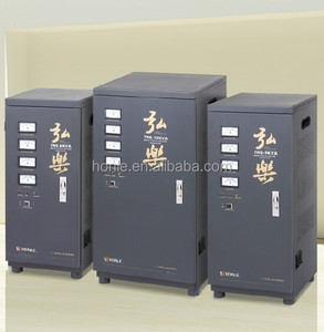 zhejiang honle function copper wire svc 10kva ac frequency stabilizer